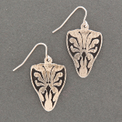 Butterfly Guitar Pick Earrings (LG)