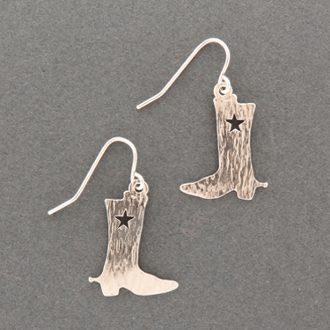 Cowboy Boots Earrings