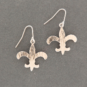 Fleur-de-Lis (LG) Earrings