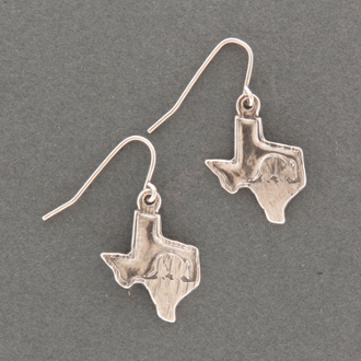 Texas Armadillo Earrings