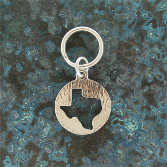 Texas Crop out Keychain