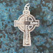 Sterling Silver Cross Pendant 4
