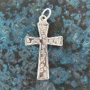 Sterling Silver Cross Pendant 3